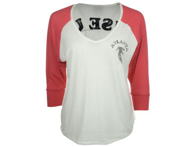 Atlanta Falcons NFL Womens Victory V-Neck Raglan 2014