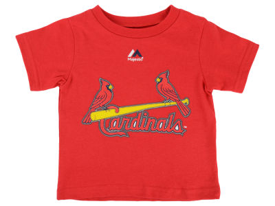 St. Louis Cardinals Yadier Molina Majestic MLB Infant Official Player T-Shirt
