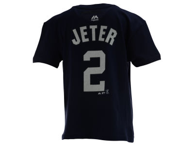New York Yankees Derek Jeter MLB Kids Official Player T-Shirt