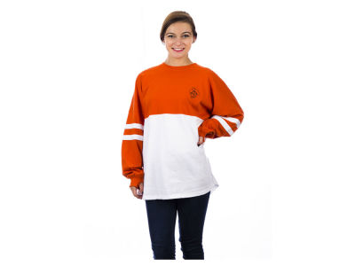 Oklahoma State Cowboys NCAA Women's Varsity Sweeper Long Sleeve T-Shirt