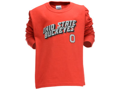 Ohio State Buckeyes NCAA Youth Super Extrude Long Sleeve T-Shirt