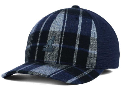 Kangol Block Plaid Flexfit Baseball Cap