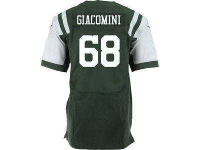 New York Jets Breno Giacomini Nike NFL Men's Game Jersey