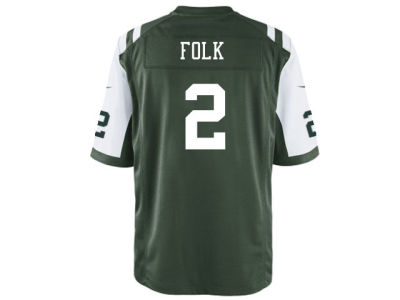 New York Jets Nick Folk Nike NFL Men's Game Jersey