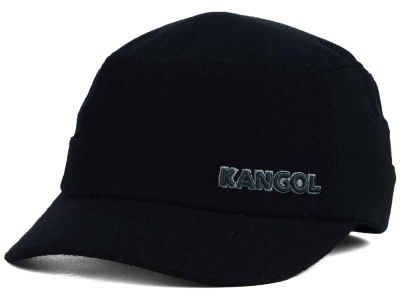 Kangol Textured Wool Military Cap