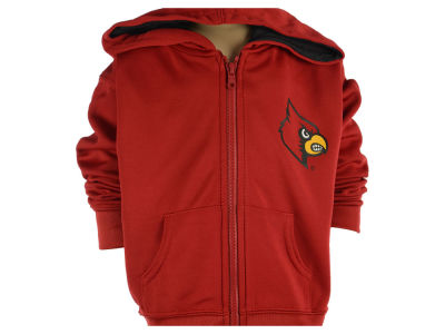 Louisville Cardinals NCAA Toddler Poly Full Zip Hoodie