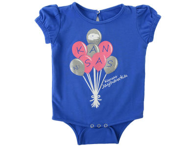 Kansas Jayhawks NCAA Newborn Balloon Creeper