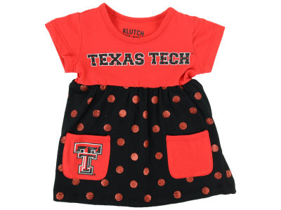 Texas Tech Red Raiders NCAA Toddler Polka Dot Dress