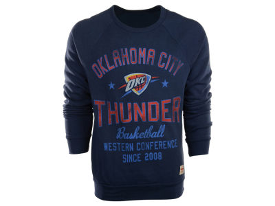 Oklahoma City Thunder NBA Regatta Crew Sweatshirt