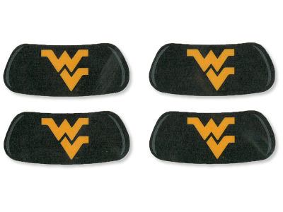 West Virginia Mountaineers 2 Pair Eyeblack Sticker