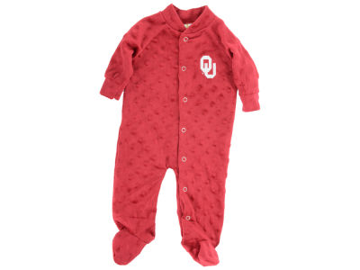 Oklahoma Sooners NCAA Newborn Cuddle Bubble Footed Creeper