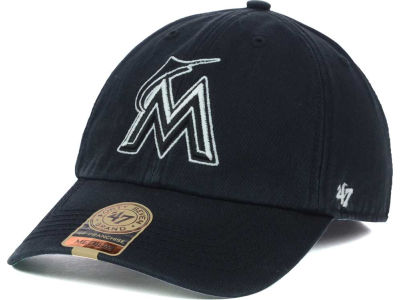 Miami Marlins '47 MLB Black Out '47 FRANCHISE Cap