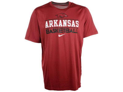 Arkansas Razorbacks Nike NCAA Team Issue Basketball Practice T-Shirt