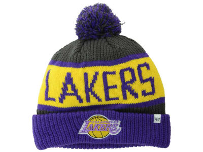 Los Angeles Lakers '47 NBA HWC Calgary Pom Knit