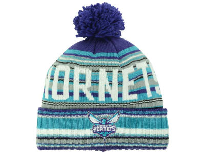 Charlotte Hornets Mitchell and Ness NBA Stripe High 5 Knit