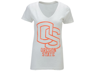 Oregon State Beavers Pressbox NCAA Womens Charlie T-Shirt 2014