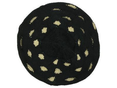 LIDS Private Label PL Lurex Polka Dot Beret Hat