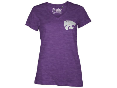 Kansas State Wildcats Pressbox NCAA Womens Bira Vneck T-Shirt 2014