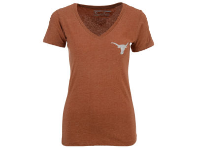 Texas Longhorns NCAA Womens Bira Vneck T-Shirt 2014