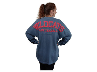 Arizona Wildcats NCAA Women's Sweeper Long Sleeve Solid T-Shirt