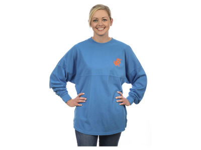 Florida Gators NCAA Women's Sweeper Long Sleeve Solid T-Shirt