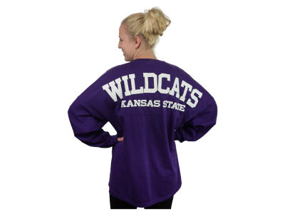 Kansas State Wildcats NCAA Women's Sweeper Long Sleeve Solid T-Shirt