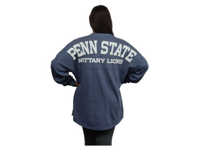 Penn State Nittany Lions NCAA Women's Sweeper Long Sleeve Solid T-Shirt