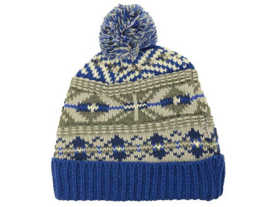 LIDS Private Label PL New Nordic Cuffed Pom Knit