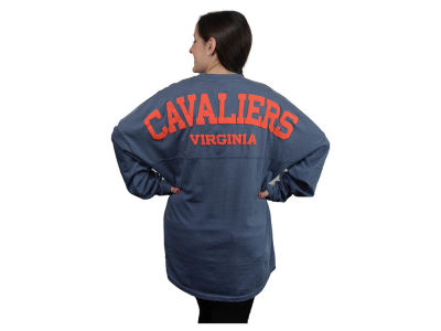 Virginia Cavaliers NCAA Women's Sweeper Long Sleeve Solid T-Shirt