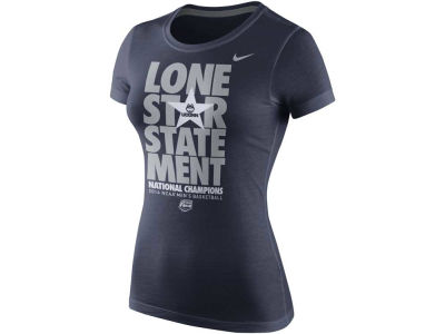 Connecticut Huskies Nike NCAA 2014 Basketball National Champ Womens LR T-Shirt
