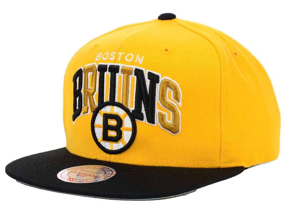 c7c1769bbae ... good boston bruins mitchell ness nhl chase snapback cap 315b2 56b6a
