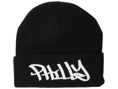 Philadelphia 2014 City Script Cuffed Knit