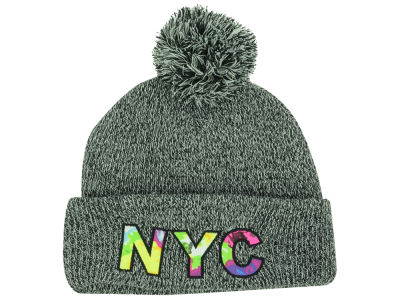 New York Patterned Font City Knit