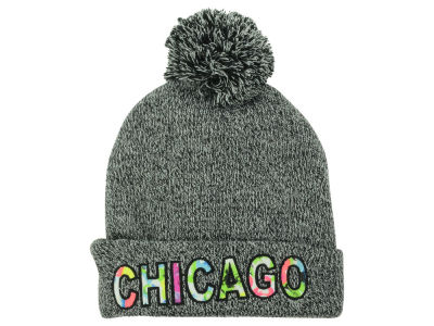 Chicago Patterned Font City Knit
