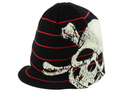LIDS Private Label PL Youth Striped Jeep w/ Skull Knit