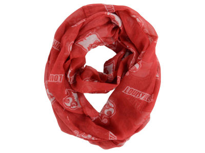 Louisville Cardinals Infinity Scarf