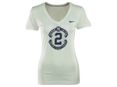 New York Yankees Derek Jeter Nike MLB Women's Derek Jeter Commemorative T-Shirt