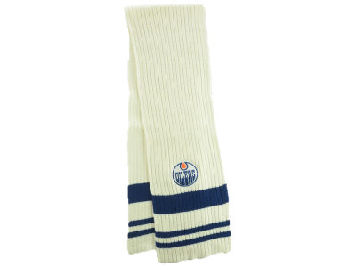 Edmonton Oilers Old Time Hockey NHL Women's Glacier Scarf