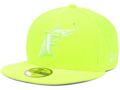 Florida Marlins New Era MLB C-Dub 59FIFTY Cap
