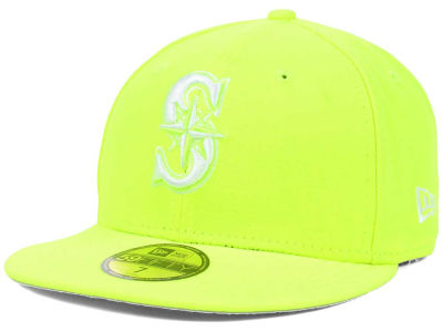 Seattle Mariners New Era MLB C-Dub 59FIFTY Cap