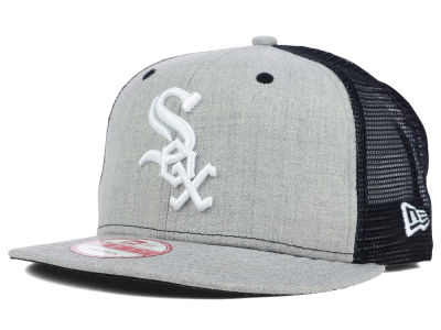 Chicago White Sox New Era MLB Heather Trucker 9FIFTY Snapback Cap