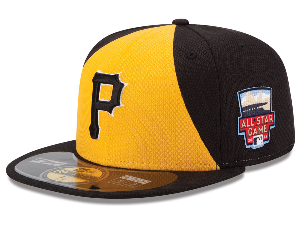 c3184d29f Pittsburgh Pirates New Era MLB 2014 All Star Game Patch 59FIFTY Cap ...