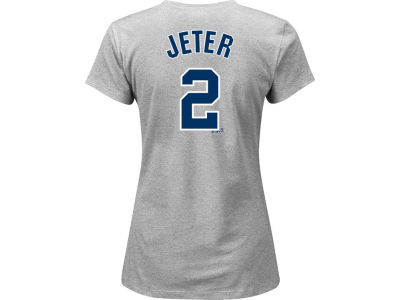 New York Yankees Derek Jeter MLB Women's Jeter Patch NY T-Shirt