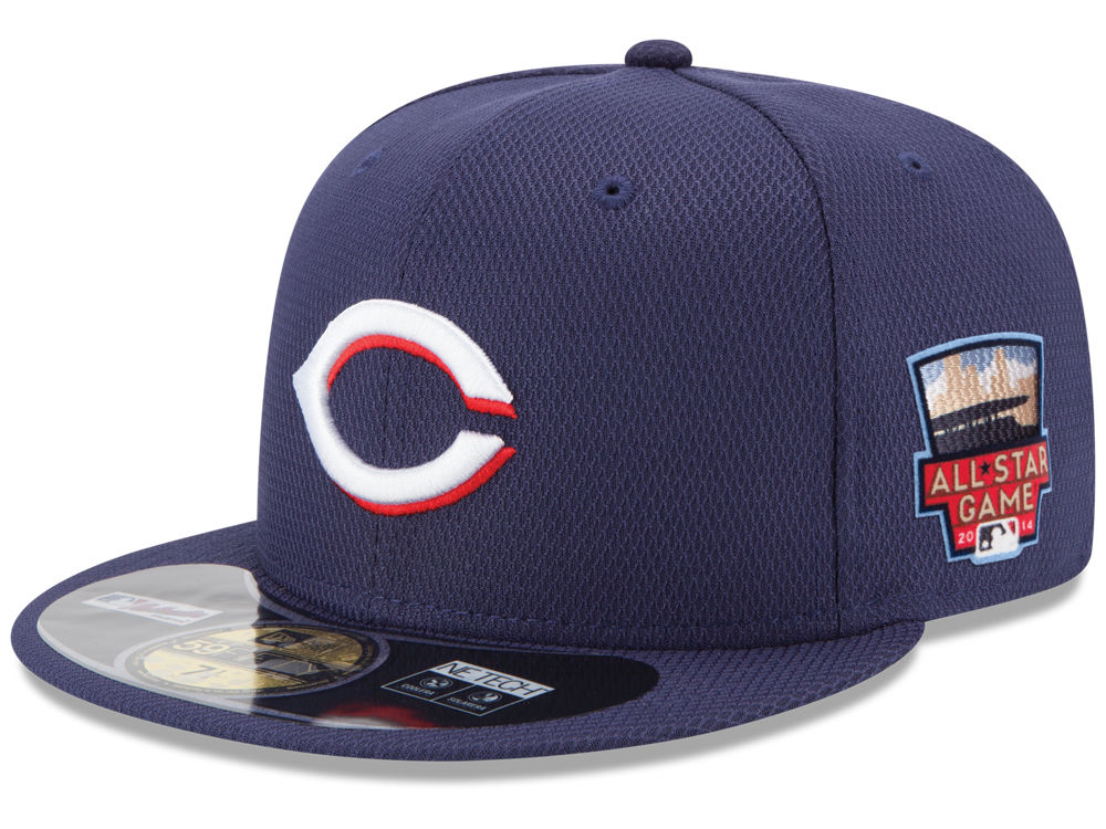 low priced a020c 3fe8c ... usa cincinnati reds new era mlb 2014 home run derby 59fifty cap 0bb6f  8fd19