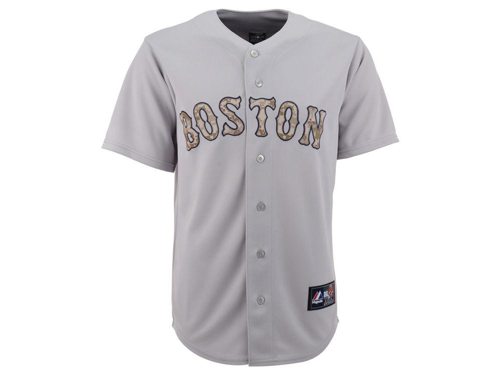 Boston Red Sox MLB Men s Digi Camo Replica Jersey  ac5263fa284