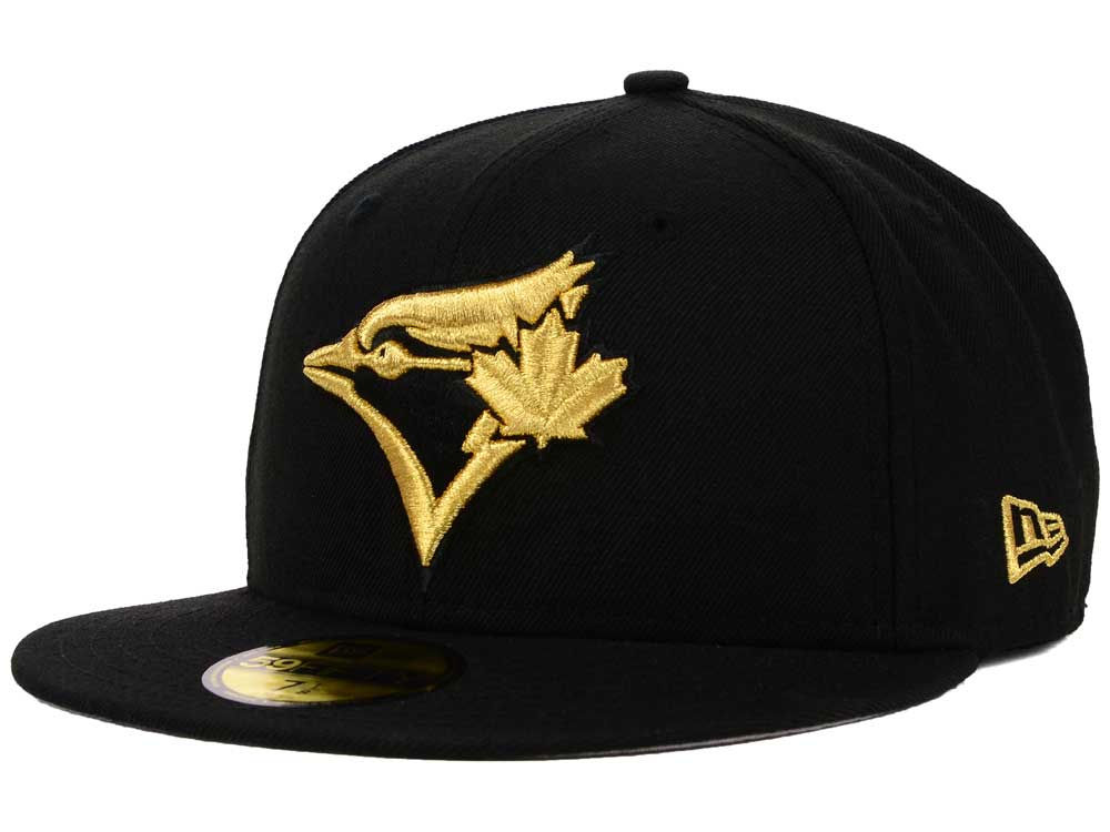 uk availability fed8f 154e7 ... best price toronto blue jays new era mlb basic gold 59fifty cap 03d2a  15449