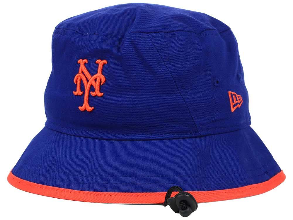 New York Mets New Era MLB Basic Tipped Bucket  26d522512c4