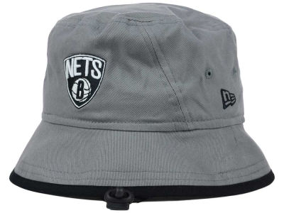 New Jersey Nets New Era NBA Hardwood Classics Basic Tipped Bucket