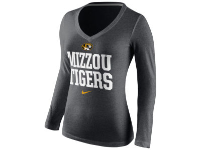 Missouri Tigers Nike NCAA Women's Local Tri-Blend Long Sleeve T-Shirt