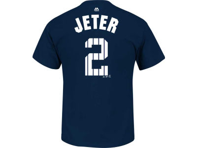 New York Yankees Derek Jeter Outerstuff MLB Youth Derek Jeter Pinstripe Player T-Shirt